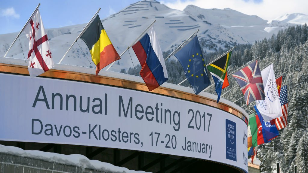 China's Xi headlines Davos forum as US makes transition
