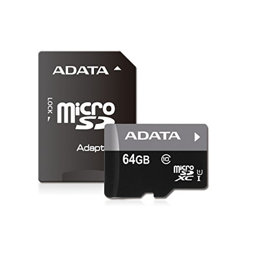 #free #memory #digital #style #shopping #win #giveaway ADATA Premier 64GB microSDHC/SDXC UHS-I U1 Class 10 Memory Card with Adapter (AUSDX64GUICL10-RA1) #rt