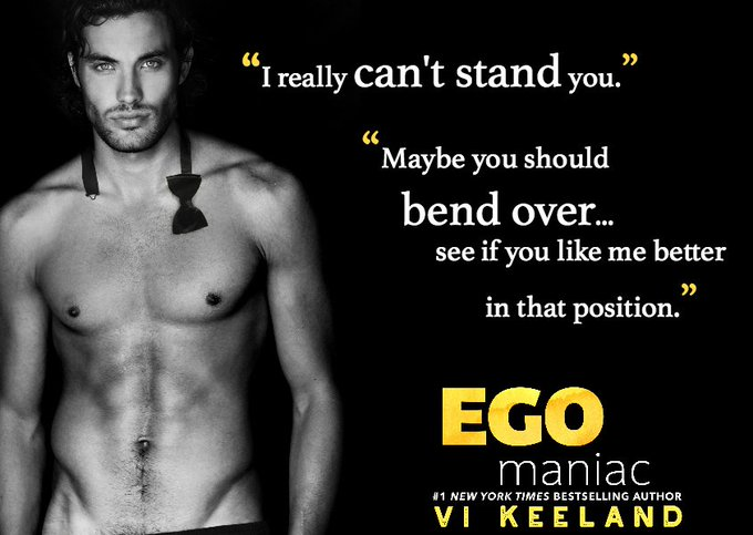 Egomaniac by Vi Keeland ❄️ Review Blitz & EXCLUSIVE Gift Card Giveaway ❄️ (Contemporary Romance)