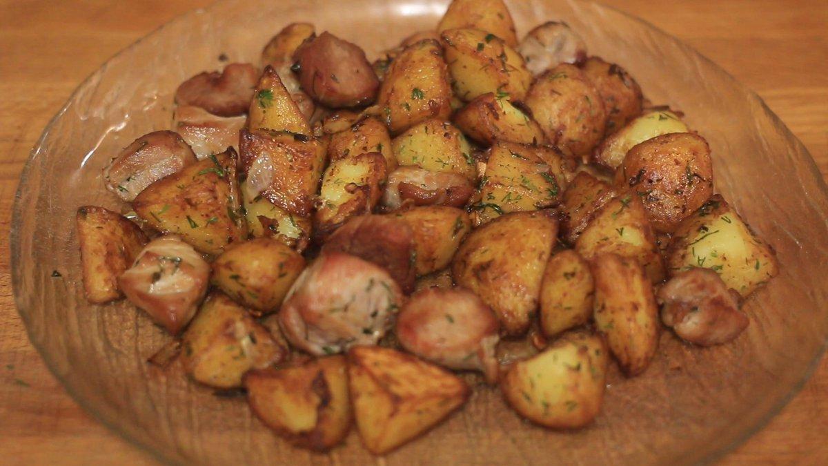Рецепты блюд из картошки со свининой в