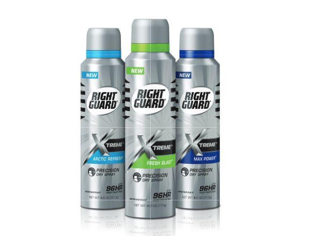 Free Right Guard Xtreme Spray Deodorantfreebies rebate