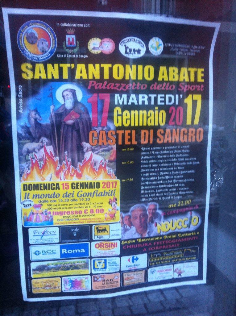 #SantAntonioAbate