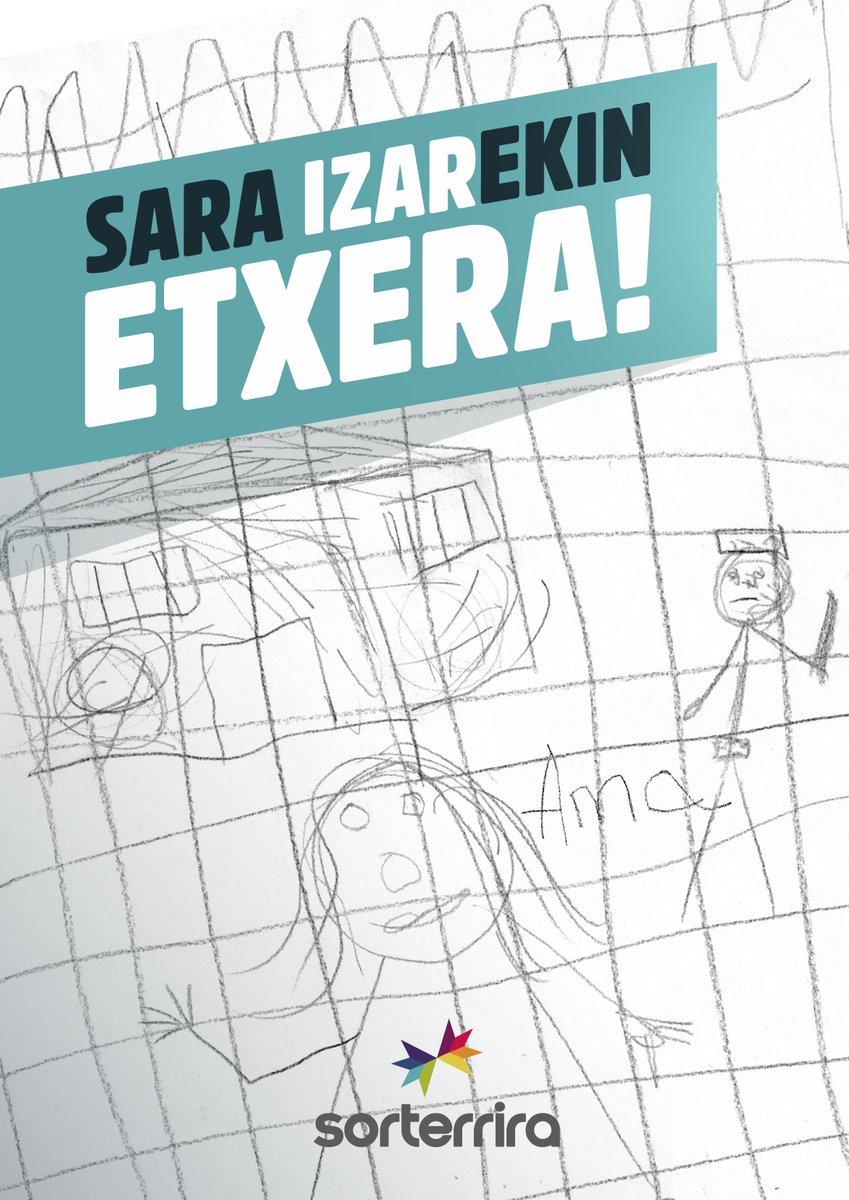 RT @sortuEH: Sara Izarekin etxera! #sorterrira https://t.co/lIdYKdedQh