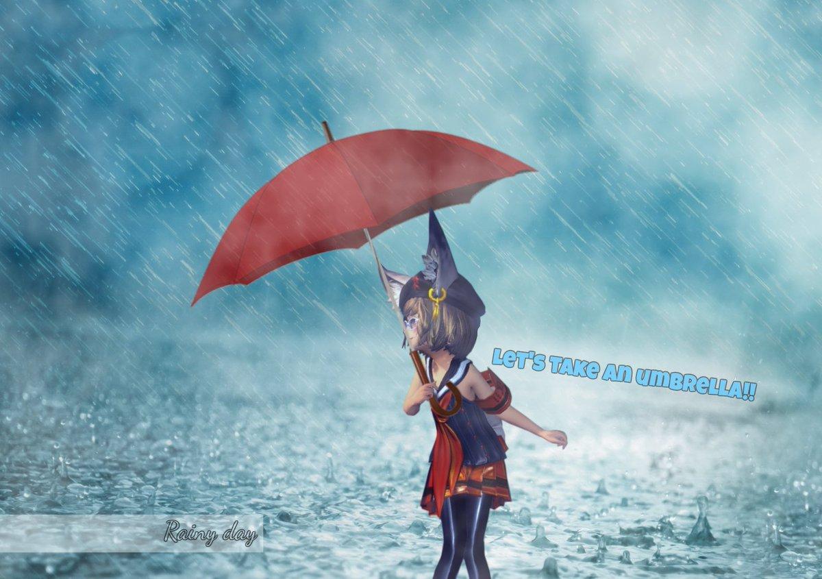 Singin' in the Rain的な。#ブレイドアンドソウル