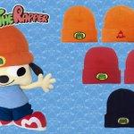 #パラッパ のニット帽が3色ともに再入荷しました! まだまだ寒いのでこれで心身ともに温まってね❤️ パラッパとPJベリー