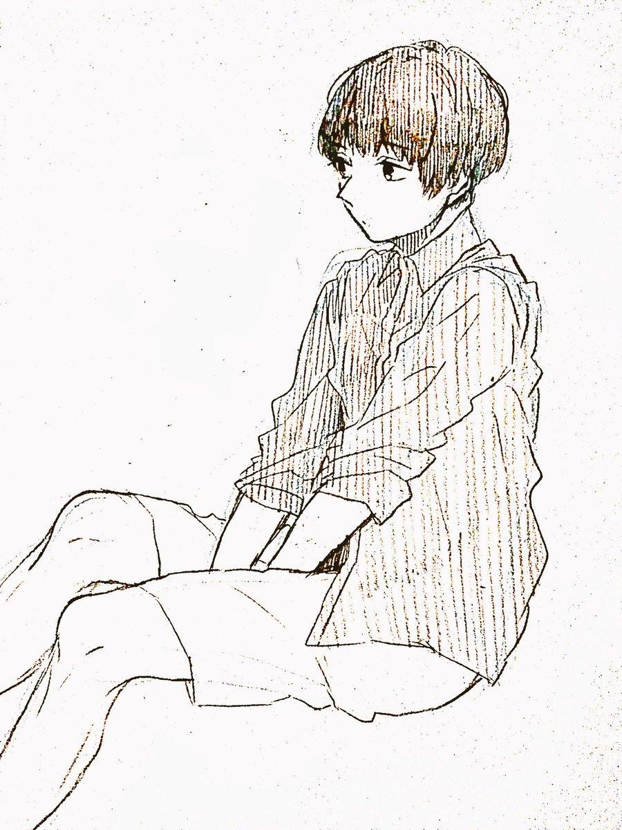 中学生ヘアー(私命名)の下野さん戦勇。ラジオのふつおたで下野さんは何で髪が伸びるとすぐ切ってしまうんですか?っていうの聴
