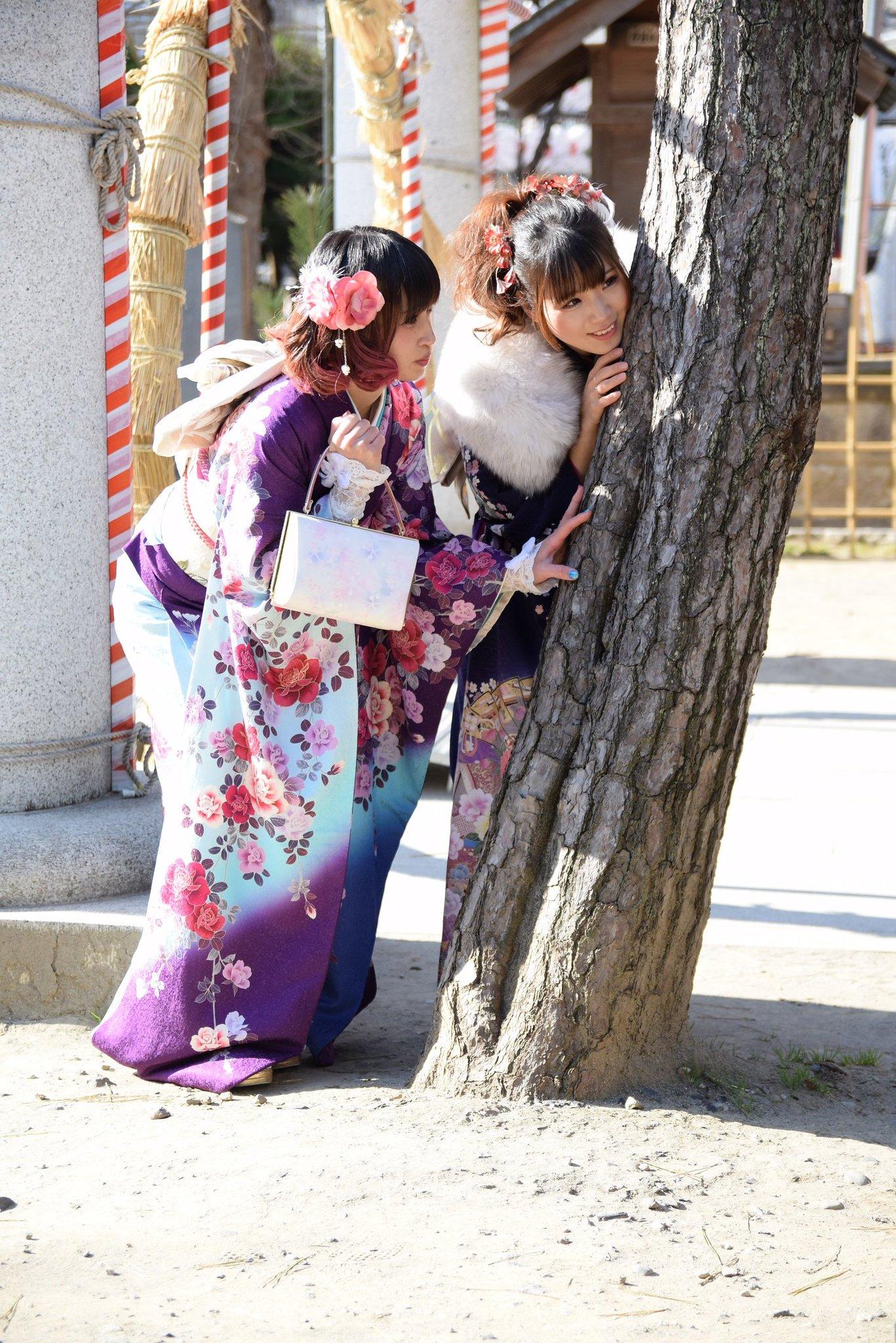 画像,茶々くるる振袖撮影会茶々さん(@kagetsuomi)倉坂くるるさん(@Kururu_45)#茶々くる撮 https://t.co/IG7RQ3fHCN…