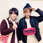 今日は千葉翔也氏と二人である雑誌の取材でしたー!お楽しみに〜!!ALL OUT!!グッズちゃっかり我ら使ってます♪笑