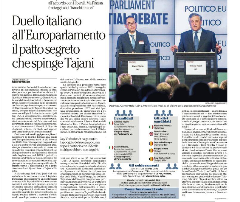#Tajani