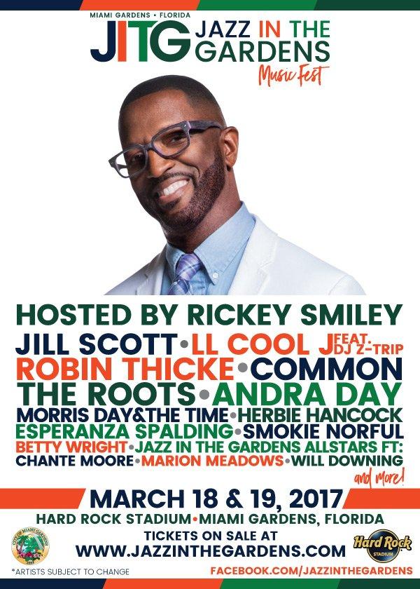 I'm hosting #JazzInTheGardens ag