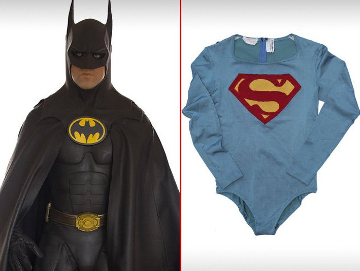 Una casa de subastas entregará al mejor postor los trajes originales de Batman y Superman https://t.co/gEDGjMr3g1 https://t.co/6iyrobV7yN