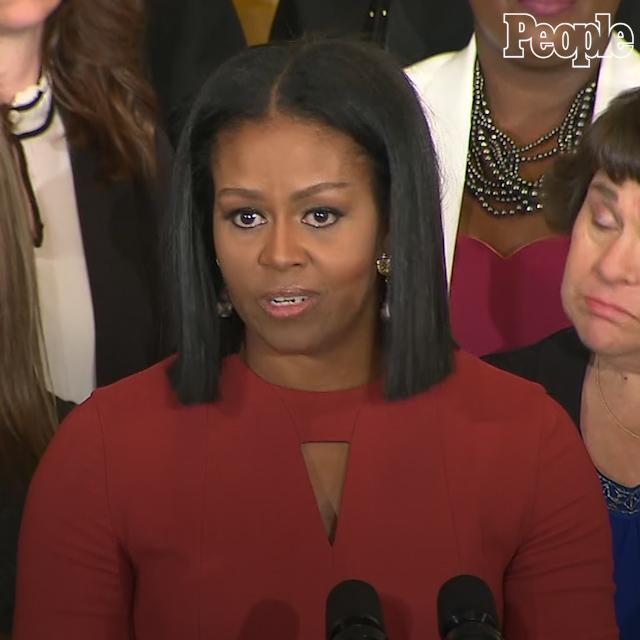 Happy birthday, @FLOTUS! Watch Michelle Obama's final speech in office