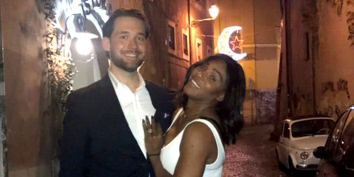 Serena Williams opens up about engagement to 'really nice' fiancé Alexis Ohanian