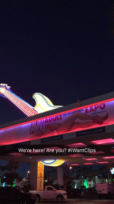 We're here! Are you? #AVN #iWantClips Come and see us at our booth #813 @HardRockHotelLV https://t.c