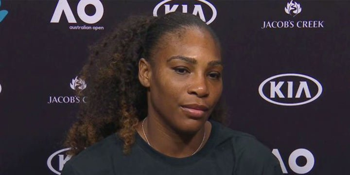 Serena Williams sports 'equality' shirt as she promotes Martin Luther King Jr.'s message