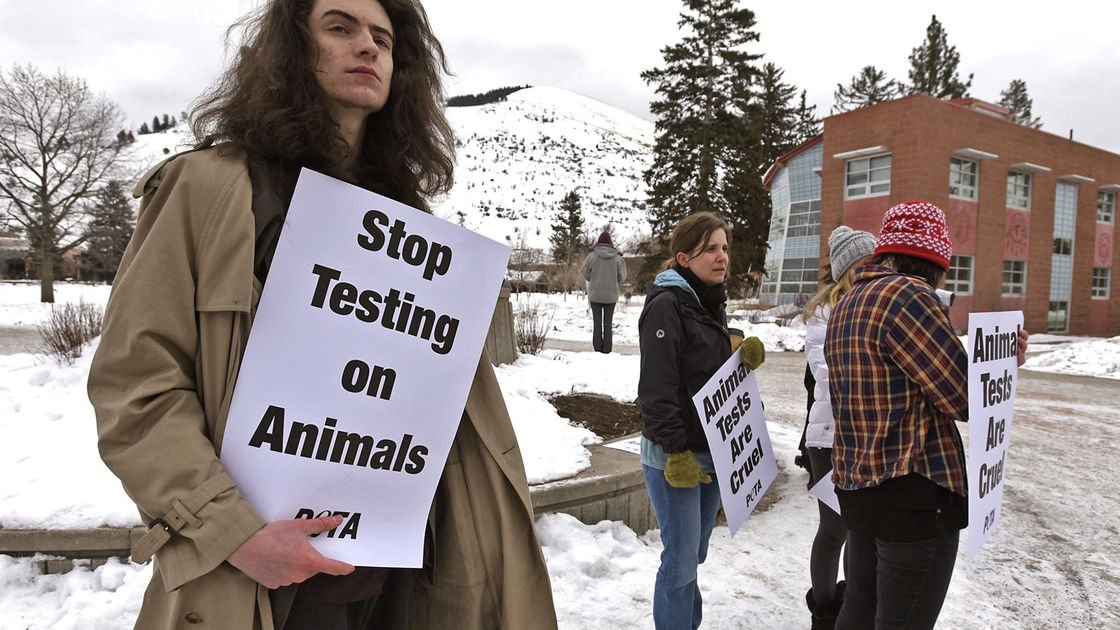 Handful of protesters score meeting with University of Montana president