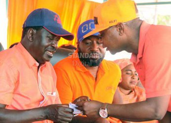 Raila: NIS interfering with voter registration to influence election results