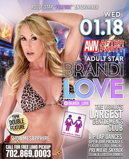 See you all tomorrow night for the best #afterparty @TheSapphireLV  along with the crew of @SweetHeartVids