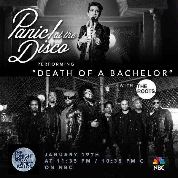 Performing #DeathOfABachelor with none other than @TheRoots this Thursday at 11:35pm/10:35c on @FallonTonight! https://t.co/3IwNRKX3oD