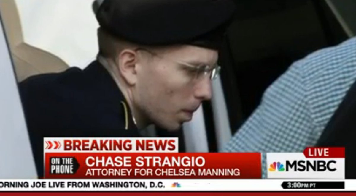 "Chelsea Manning's attorney Obama commutation ""saved her life"""