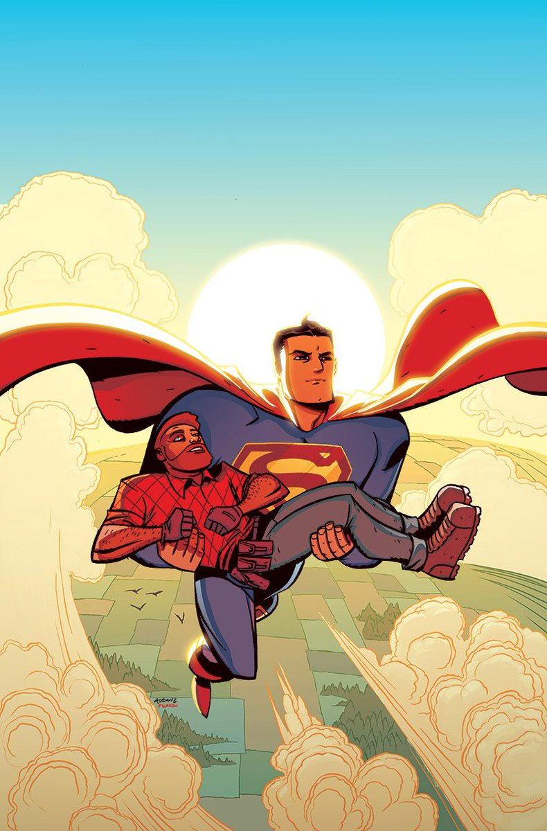Love what @nickfil did with this #CaveCarson cover- #superman https://t.co/gvRaon2UgX