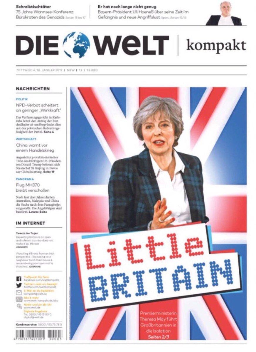 RT @davidwalliams: German newspaper front page. https://t.co/UtC39VxT1s