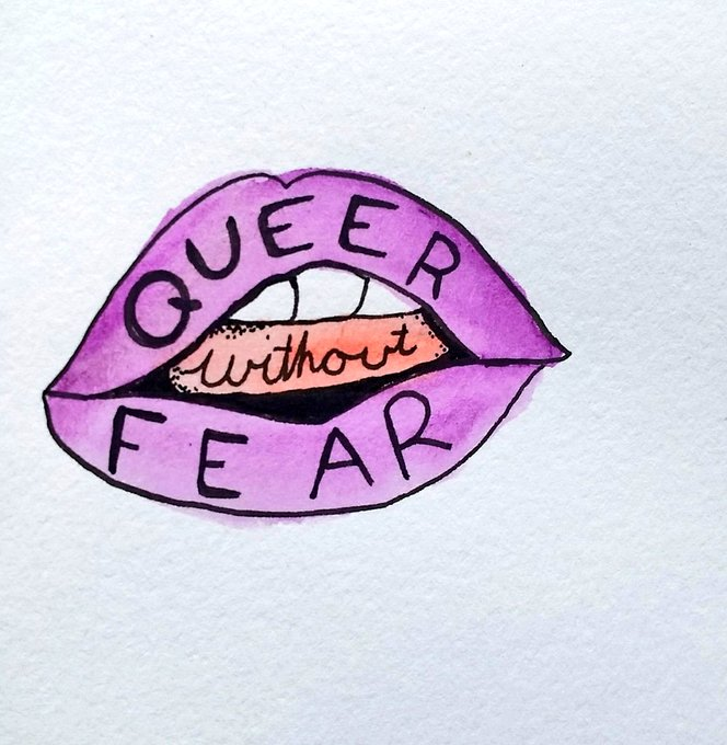 1 pic. Some cute trans and queer positive doodles. Love you all. 💕 https://t.co/Ye1B8Hs1IT