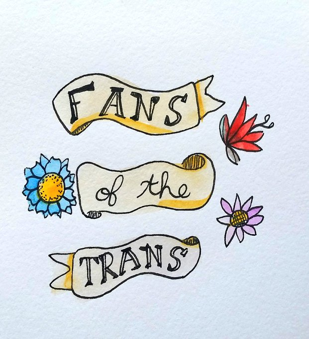 2 pic. Some cute trans and queer positive doodles. Love you all. 💕 https://t.co/Ye1B8Hs1IT