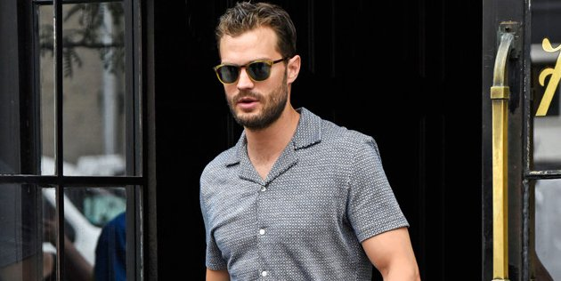 The truth is there's about fifty shades of gray between Jamie Dornan and Christian Grey.