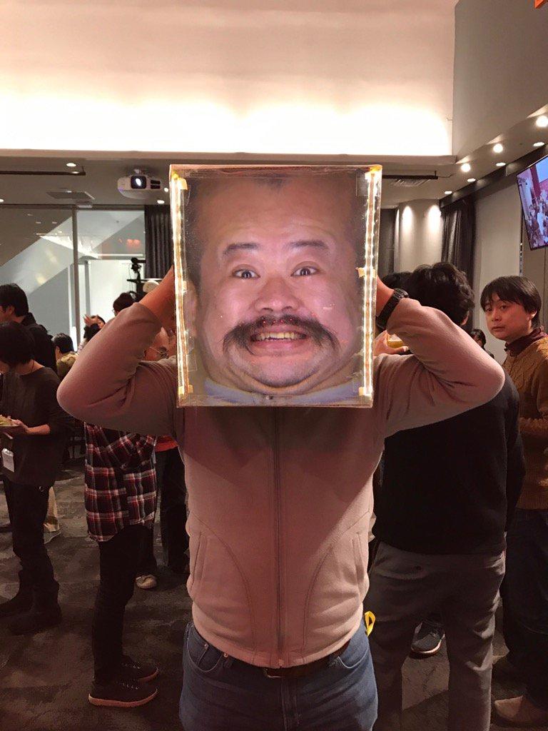 RT @yaginome: 顔が大きくなる箱の似合いかたが半端なかった宮城さ ...