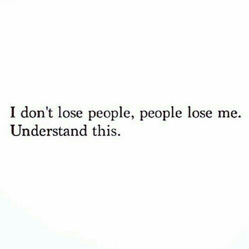 RT @Laughbook: I don't lose people https://t.co/srhSqLpPpn