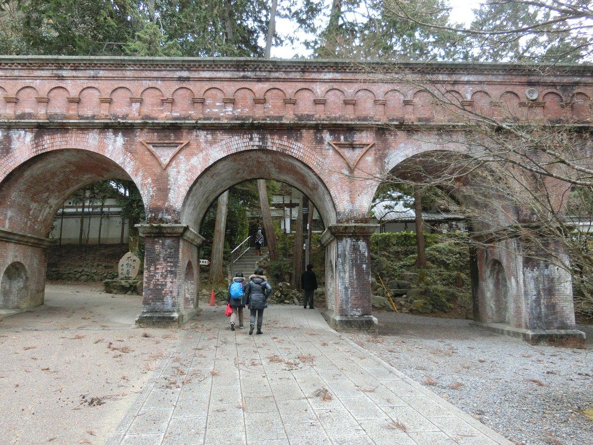南禅寺にある水路閣。これも数少ない聖地巡礼ポイント。いつか必ず始まりと終わりを連れて、ここに帰ってくるよ――― #京都旅