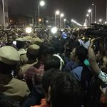Jallikattu protests continue across Tamil Nadu, over 4000 protesters camped at MarinaBeach