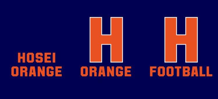 【ニックネーム変更のお知らせ】2017年度、法政フットボールは「ORANGE」というニックネームに変更致しました。#or