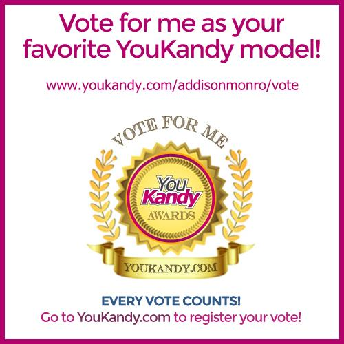 YouKandy Model of the Month - Vote for me! https://t.co/dPPn5NueZa https://t.co/8L8NlGiaAl
