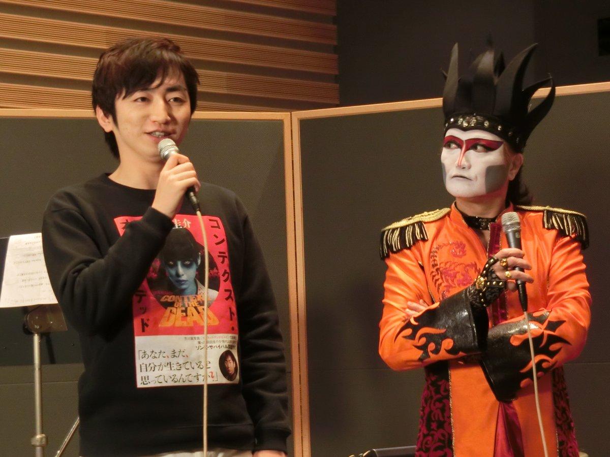 デーモン閣下の五年ぶりのソロアルバムに芥川賞作家の羽田圭介さん、長嶋有さん、「テラフォーマーズ」原作の貴家悠さんも参加、