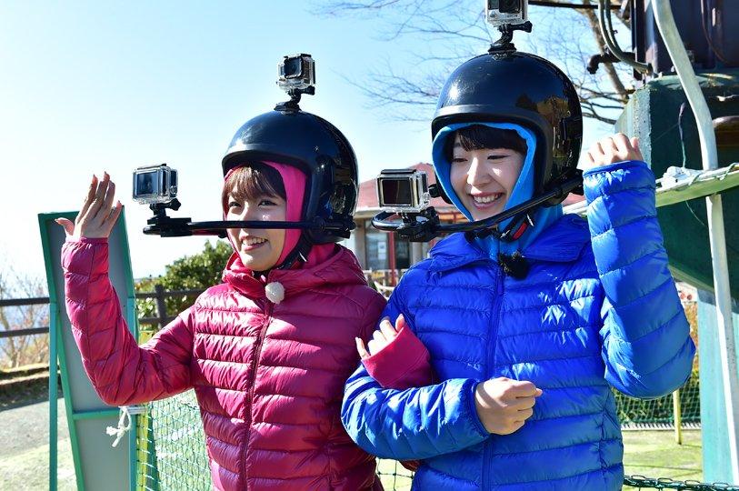 カメラをセットして、上って、急降下!絶叫あり涙ありの『#大薩摩紀行 後編』は、TBSチャンネル2で今週20日(金)午後1