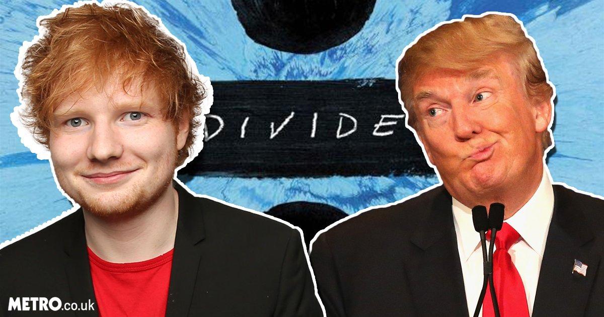Ed Sheeran Tunda Rilis Album karena Kemenangan Trump https://t.co/s8VHUDtHsc https://t.co/DEHuGlEH9P