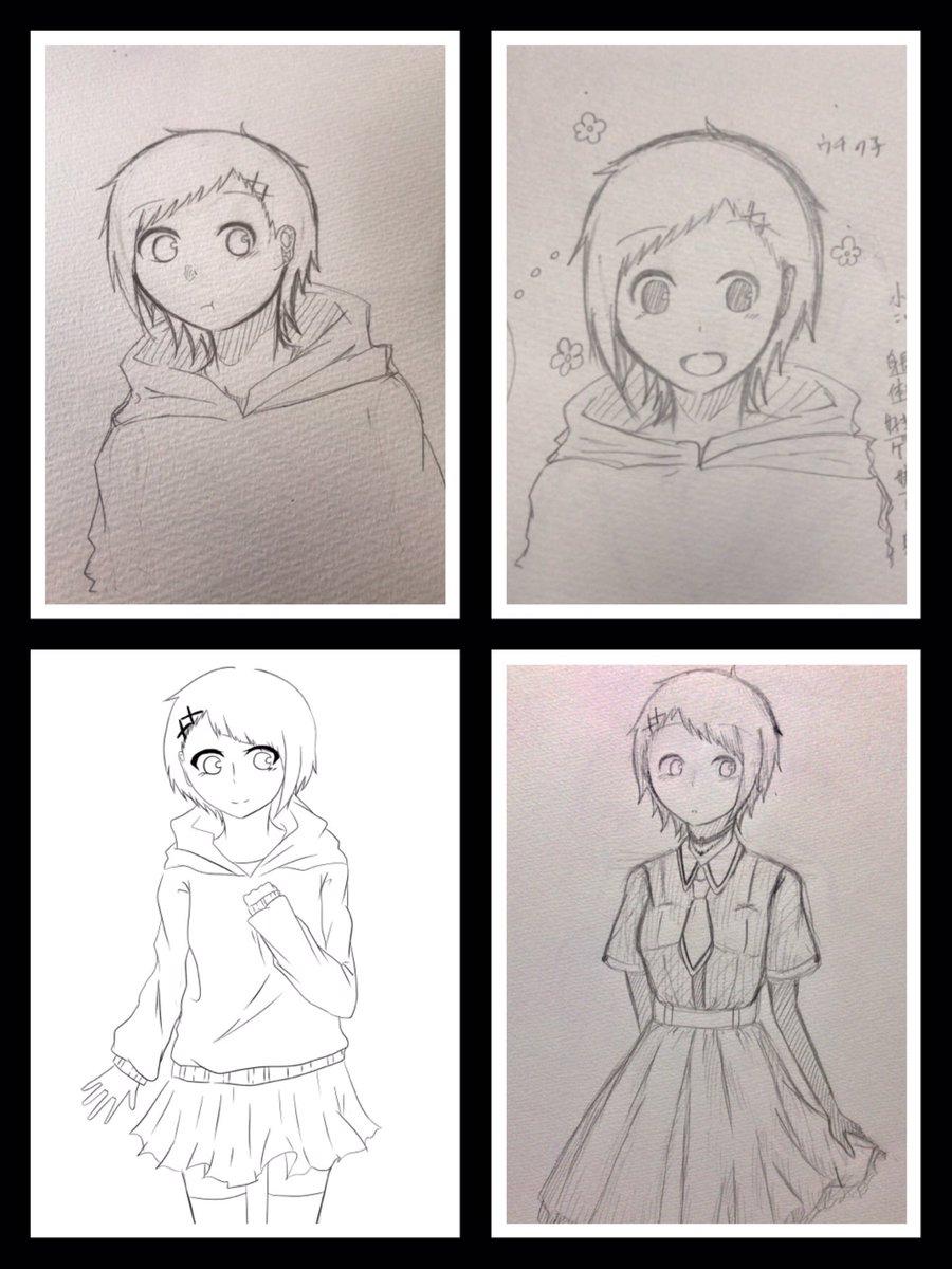 アニメたくさん好きです〜創作もちょこちょこ描いてますWWW.WORKING!!とかおそ松さんとかとか…#絵描きさんと繋が