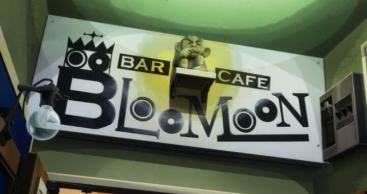 ★Occultic;Nine聖地巡礼★【Cafe☆Bar BLOOMOON②】作品中では、二階に上がる階段や、お店の入口