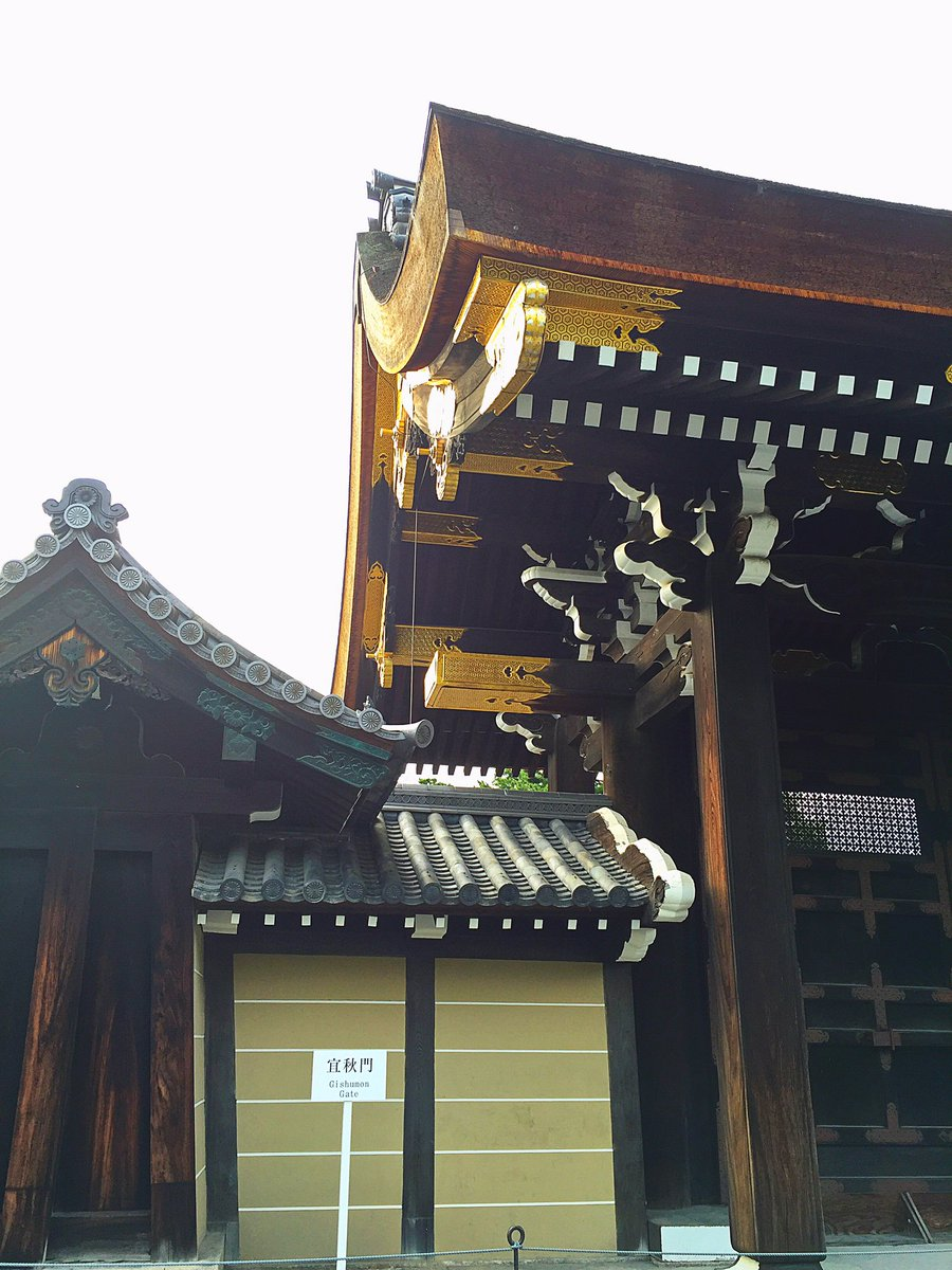 子供の頃から慣れ親しんだ京都御苑。でも中の御所には親や祖父母は特別公開時に入った事があるらしいものの、実は私は一度も入っ