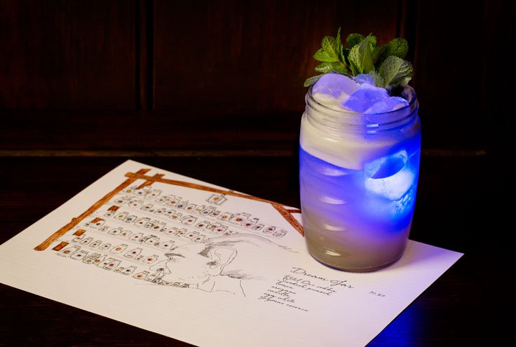The BFG-themed Dream Jar at The Blind Pig London's craziest cocktails
