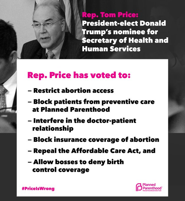 .@RepTomPrice's nomination hearing is today. Here's why #PriceIsWrong: https://t.co/IKXrioxj66 #PriceHearing  Watch: https://t.co/OnNqftkjyr