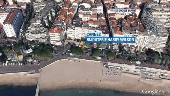 🇫🇷 #Cannes Braquage dans une bijouterie ce matin. 15 millions d'euros de butin. Auteur armé en fuite..  . https://t.co/5gWoJCSC7a