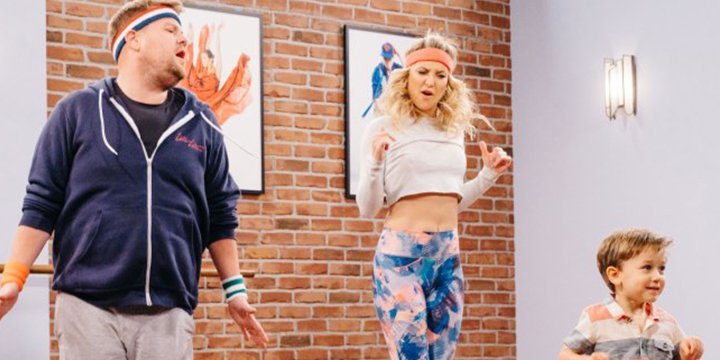 Kate Hudson shows off her dance moves in hilarious 'Toddlerography' skit with @JKCorden