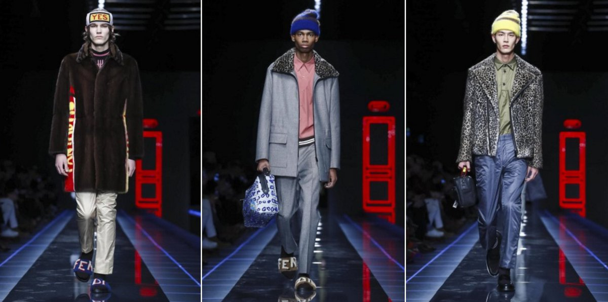 RT @SHOWstudio: 'For A/W 17, it's a pop art inspired collection from @Fendi ,' Lucy Norris reports:  https://t.co/CZHX5nZDqA https://t.co/T…