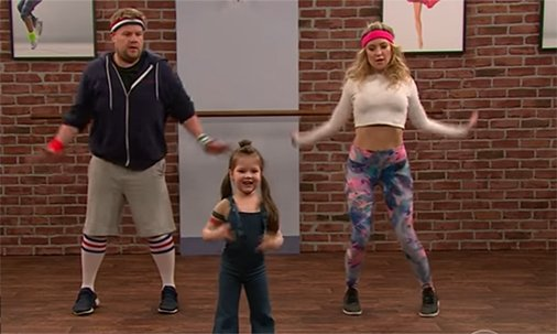 .@JKCorden and Kate Hudson dancing with toddlers will make your Wednesday!