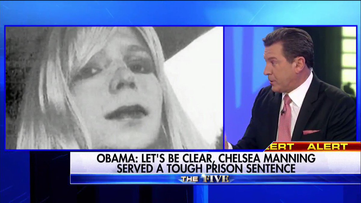 ".@ericbolling on Chelsea Manning commutation ""This is insane."" #TheFive"