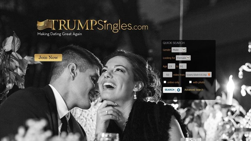 'Make dating great again' Trump singles site sees membership spike