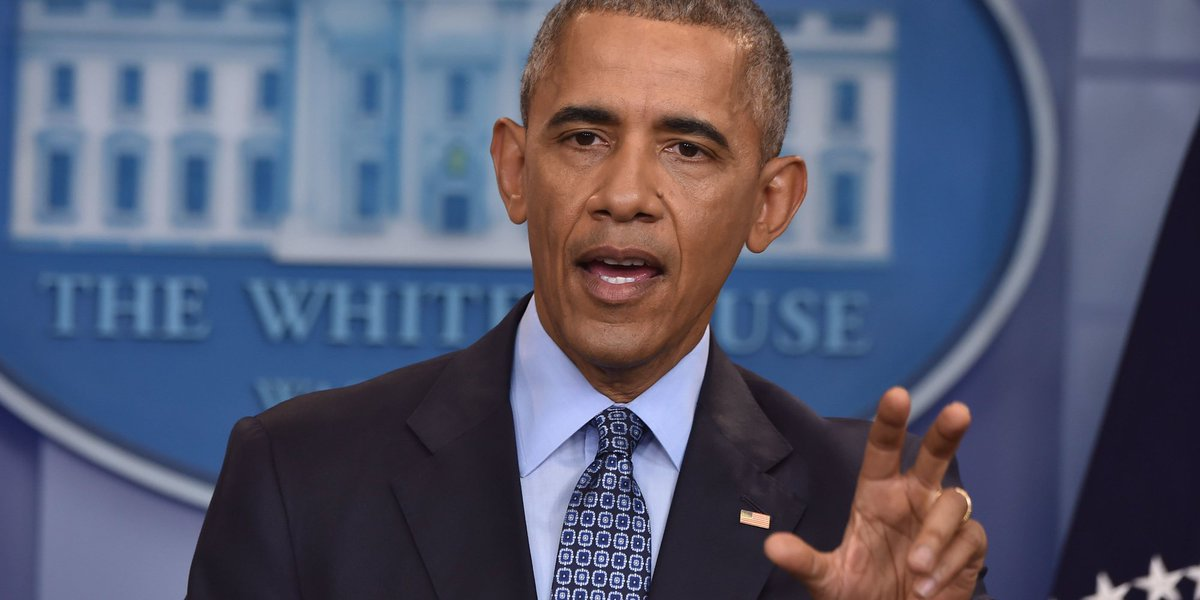 Obama says voting barriers are directly linked to Jim Crow and slavery